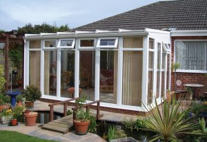 No-nonsense lean to conservatories.