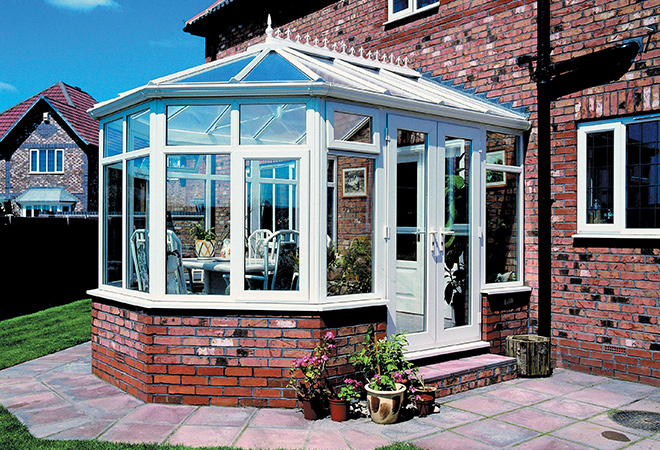 Self build DIY Victorian Conservatory Kits