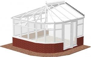 multi bay edwardian conservatory
