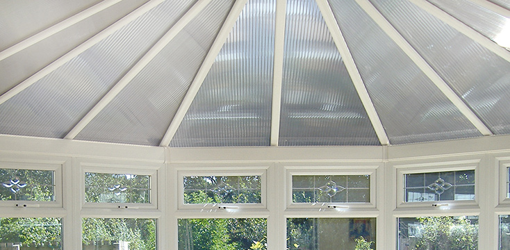 DIY Conservatory Poly-carbonate roof
